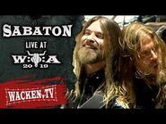Sabaton - 40 to 1 - Live at Wacken Open Air 2019