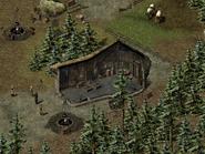 Скала воронов, цыганский лагерь 5