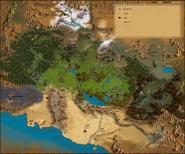 Карта Анкарии (дополняется)