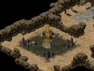 Номад-Нур, статуя волшебницы 4