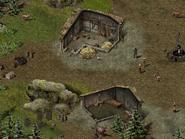 Скала воронов, цыганский лагерь 6