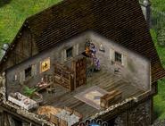 Интерьер особняка этаж 2