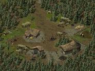 Скала воронов, цыганский лагерь 4