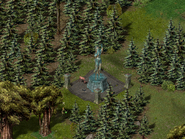Тир-Хадар, статуя волшебницы 4