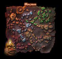 Magmar na mapie świata