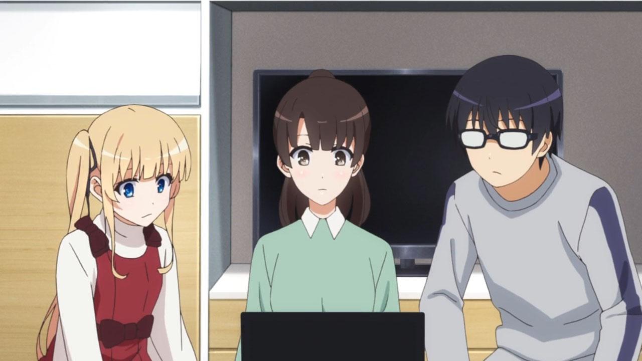 Saenai Heroine no Sodatekata Flat Episode 2