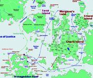 Path to Battles of Armageddon Reef