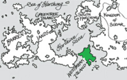 Westbreak Island map