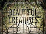 Sublimes Créatures, la bande originale