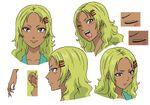 Aiura Mikoto Faces