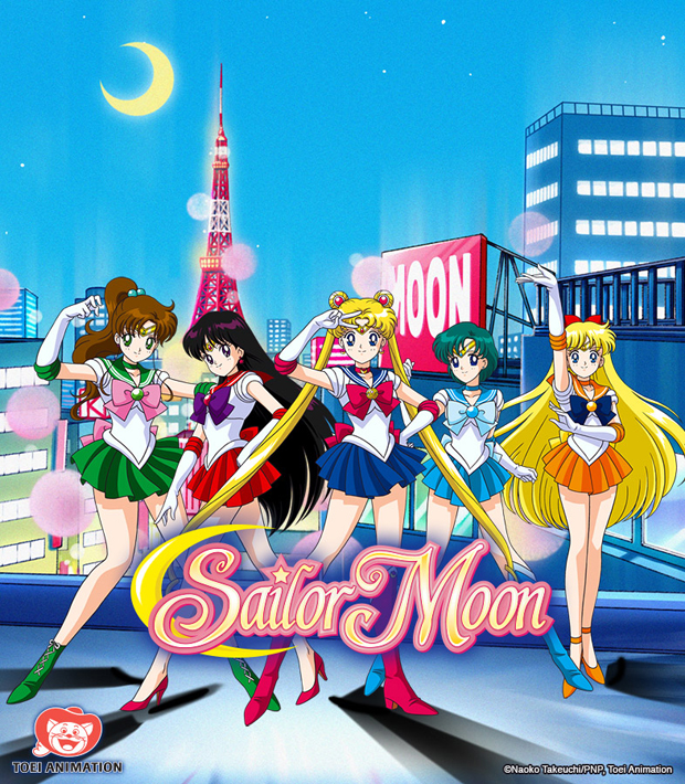 Sailor Moon DVD/Blu-Ray Releases