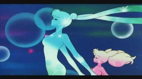 Serena y Rini - Doble Poder Cosmico Lunar, Accion!