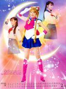 Usagi and Sailor Moon 2004 PGSM Calender
