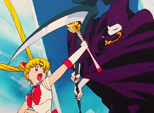 The Mysterious New Guardian: Sailor Pluto Appears
