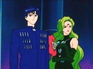 Zafiro junto a Esmeralda