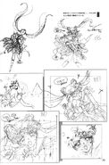 Super Sailor Moon and Chibiusa SuperS Movie Sketch
