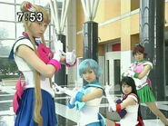 Cztery Sailor Senshi przeciwko Youmie PGSM - act28