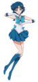 Sailor Mercury Season III Crystal Design