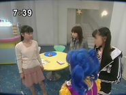 Usagi, Ami, Rei i Luna w tajnej bazie PGSM - act31