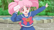 Sailor moon crystal act 26 chibiusa has a transformation brooch and a letter from her mother