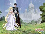 Princess Serenity and Prince Endymion - SM Crystal