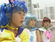 Sailor Luna, Sailor Mercury i Sailor Jupiter PGSM - act45