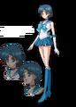Sailor Mercury Crystal Design