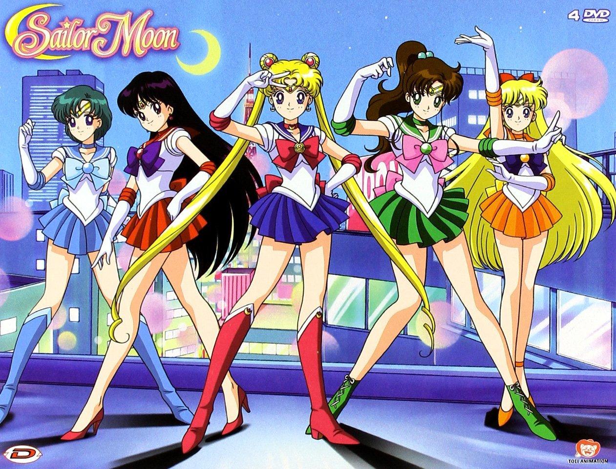 Sailor Moon Box 1 (Italian DVD)