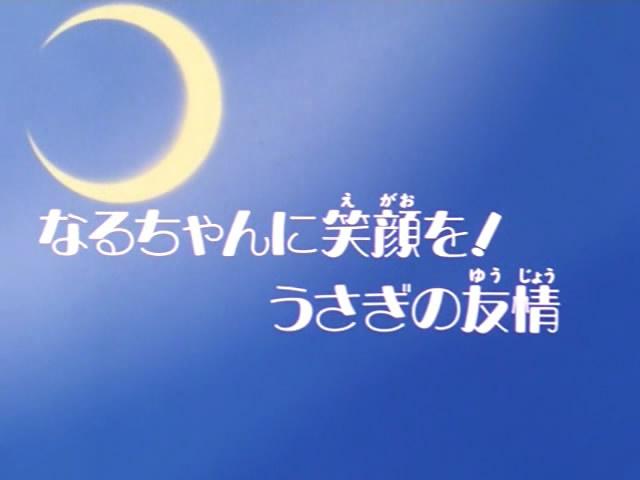 Restore Naru's Smile: Usagi's Friendship