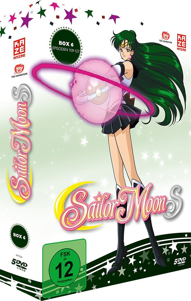 Sailor Moon S Box 6 (German DVD)