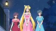 Sailor moon crystal 04 rei usagi and ami as princesses