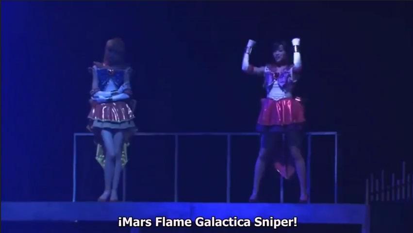 Mars Flame Galactica Sniper