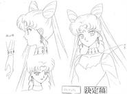 Black Lady Anime Design 1