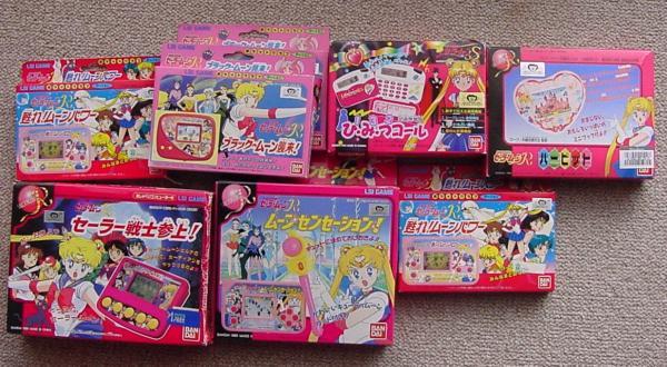 LCD Sailor Moon Games