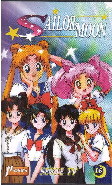 Sailor Moon, Volume 16 (French VHS)