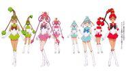 Sailor Asteroids(Sailor Vesta, Sailor Pallas, Sailor Ceres, Sailor Juno)