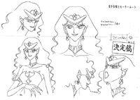Character design Queen Beryl