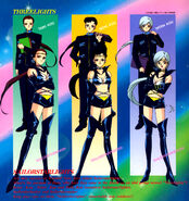 Sailor Starlights and the Three Lights