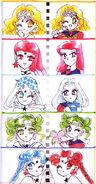 Manga witches artbook