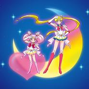 Super Sailor Moon And Super Sailor Chibi Moon - Moon Crisis Make Up!