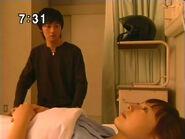 Mamoru odwiedza Mio w szpitalu PGSM - act35