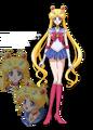 Sailor Moon Crystal Design