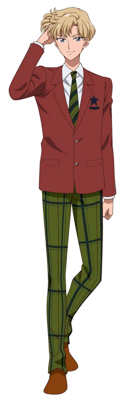 Haruka Tenou / Sailor Uranus (Crystal)