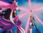 Sailor moon intenta recuperar a rini