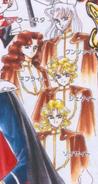 Sailor moon Shitennō manga color SM