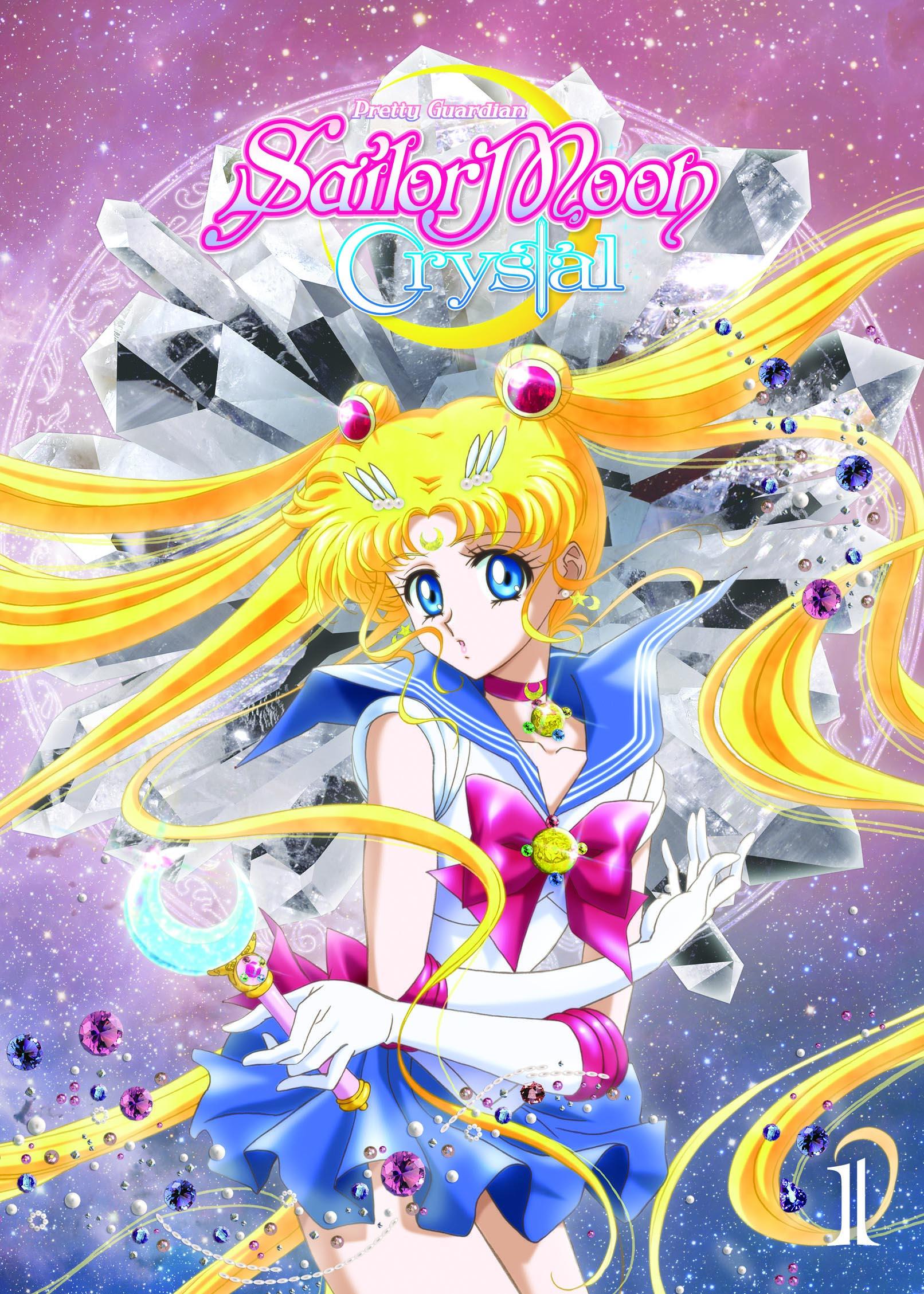 Pretty Guardian Sailor Moon Crystal Season 1 (English DVD)