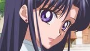 Rei talking to Usagi