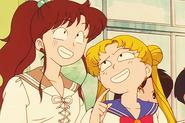 Usa and Mako being dorks