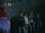 Konfrontacja Sailor Moon, Ami, Rei i Makoto z Królową Beryl PGSM - FinalAct