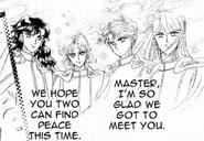 Manga classic shitennou good